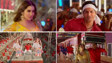 Coolie No 1 Song Teri Bhabhi: Varun Dhawan's Energetic Moves Will Impress You (Watch Video)