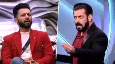 Bigg Boss 14: Rahul Vaidya Rebukes Salman Khan For Calling Him 'Bhaaga Hua Contestant', Host Asks Him 'Aapke Pair Padhke Leke Aaye Hai Kya? (Watch Video)