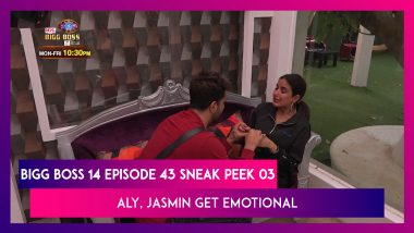 Bigg Boss 14 Episode 43 Sneak Peek 03 | Dec 1 2020: Aly, Jasmin Break Down in Tears
