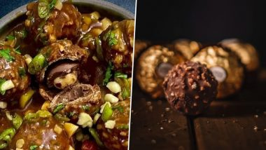 Pic of Ferrero Rocher Manchurian Goes Viral & Netizens Are So Mad at the Weird Food Combination