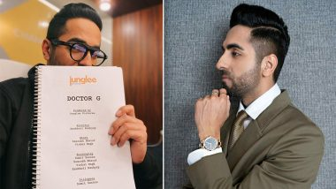 Doctor G: Ayushmann Khurrana Announces New Movie Which Will Be a Campus Drama (View Post)