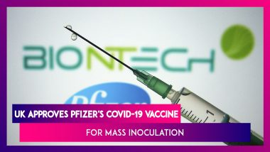 UK Approves Pfizer's COVID-19 Vaccine for Mass Inoculation, US Registers 2 Lakh Cases In A Day, Russia Authorises Mass Vaccination Programme for Sputnik V