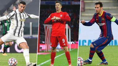 Cristiano Ronaldo, Robert Lewandowski, Lionel Messi Are Finalists for Best FIFA Men's Player Award 2020