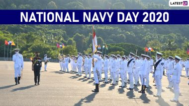 National Navy Day 2020 HD Images and Wallpapers for Free Download Online: WhatsApp Stickers, Messages and Wishes to Send Greetings on This Day