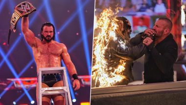WWE TLC 2020 Results And Highlights: Drew McIntyre Retains World Championship; Randy Orton Defeats 'The Fiend' Bray Wyatt in Firefly Inferno Match (View Pics)