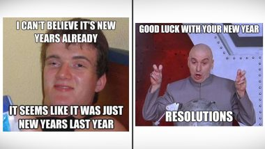 New Year 2021 Resolutions Funny Memes and Jokes: It's Almost Time for 'New Year, New Me!' LOL at These Hilarious Reactions to Our Collective Striving (Often Failing) to Reach Our Goals