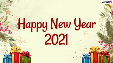 Happy and Prosperous New Year 2021 Wishes, Greetings, Status, SMS, Funny GIFs, HD Images, Photo Messages, Quotes and WhatsApp Stickers to Send on New Year's Eve 2020