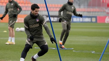 Luis Suarez Returns To Atletico Madrid Training After Recovering From COVID-19