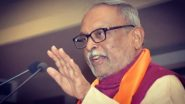 Gujarat MP Abhay Bhardwaj Passes Away;  PM Narendra Modi Offers Condolences to BJP Leader's Family & Friends