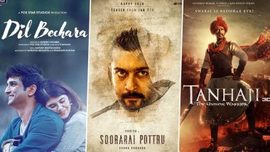 Google Year In Search: Dil Bechara, Soorarai Pottru, Tanhaji – Here Are The Top 5 Movies Searched In 2020 In India!