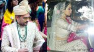Aditya Narayan and Shweta Agarwal Go with Mute and Magnificent Tones For Their Wedding (View Pics)