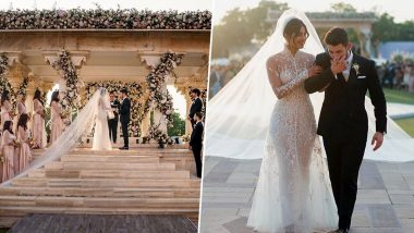 Nick Jonas Has The Sweetest Anniversary Wish For Wifey Priyanka Chopra Jonas, Calls Her 'Inspiring and Beautiful' (View Post)
