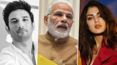 Sushant Singh Rajput Beats PM Narendra Modi to Be Yahoo's Most Searched Personality of the Year in 2020; Rhea Chakraborty Is Third on the List