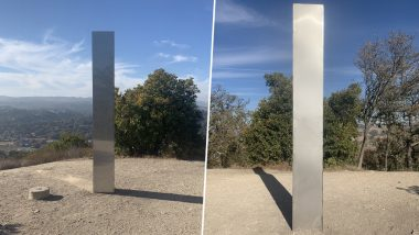 Monolith Mania Continues! Mysterious Metal Monolith NOW APPEARS at Atascadero's Pine Mountain in California, Is It the Work of Aliens or Pranksters? Netizens Doubt All Possibilities