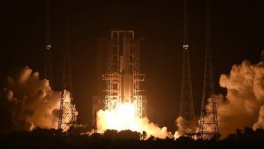 Chang'e-5, China's Unmanned Spacecraft Lands On Moon to Collect Lunar Surface Samples