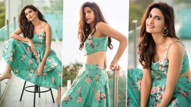 Aahana Kumra's Floral Co-Ord Set Is Wallet Friendly and Can Be Yours Too!