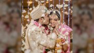 Aditya Narayan's Kiss of Love to Wifey Shweta Agarwal Is Warming Our Hearts (View Pic)