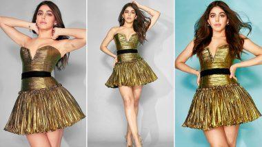 Alaya F Is All About Shine Like Gold, Sparkle Like Glitter Mood!
