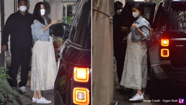 Anushka Sharma's Chikankari Lily Dress Should Be on Your Holiday Wishlist!