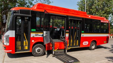 Mumbai's BEST Gets 26 Electric AC Buses Built by Tata Motors