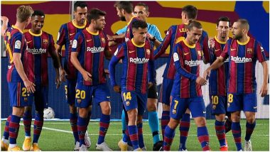 Elche vs Barcelona, La Liga 2020–21 Free Live Streaming Online & Match Time in IST: How To Get Live Telecast on TV & Football Score Updates in India?