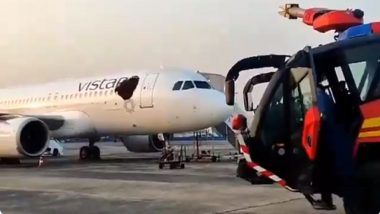 Swarm of Bees Attack Two Planes at Kolkata Airport, Lead to Flight Delays (Watch Video)