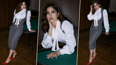 Bhumi Pednekar Is Too Glam to Give a Damn in Gingham, White and Red Vibes!