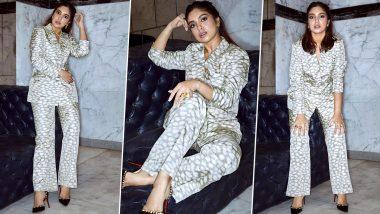 Bhumi Pednekar Is Dripping Luxe Elegance in an Ikat Pantsuit!