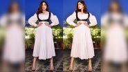 Here's How Bhumi Pednekar Harnessed a Chic Layered Basic White Dress!
