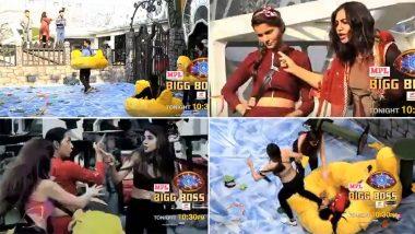Bigg Boss 14 Preview: Kashmera Shah and Nikki Tamboli at loggerheads; Arshi Khan Threatens to Hit Rubina Dilaik (Watch Video)
