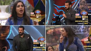 Bigg Boss 14: Arshi Khan Decides to Quit the Show After Salman Khan Blasts at Her for Provoking Vikas Gupta (Watch Video)
