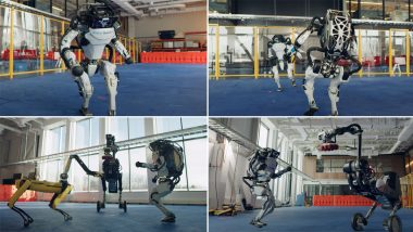Boston Dynamics Robots Including Spot Dog Grooving on 'Do You Love Me' For a Happy New Year Will Make You Do a Jig Yourself!(Watch Dance Video)