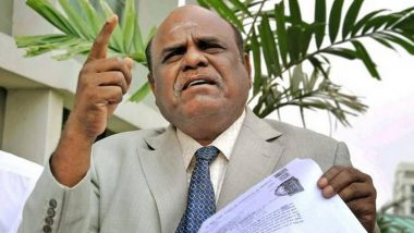 Chennai: Ex-High Court Judge CS Karnan Arrested For Abusing Judges & Issuing Rape Threats to Their Wives in Online Videos