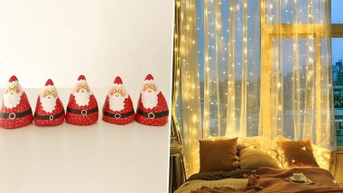 Christmas 2020 Decoration Items' List & Decor Ideas: From Santa Claus Dolls to Curtain Lights, 5 Ways to Deck Up Your Homes for the Festive Season