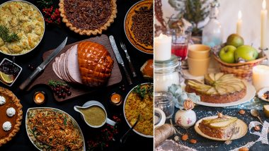 Christmas Eve 2020 Dinner Menu Ideas: From Creamy Mashed Potatoes, Baked Salmon to Rum Cake For Dessert, Traditional Recipes to Have a Lovely Holiday Spread! (Watch Recipe Videos)
