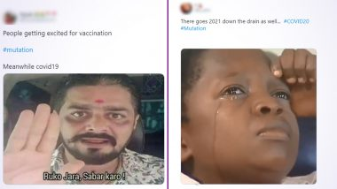 Coronavirus Mutation and COVID 20 Funny Memes Trend Online: Netizens Make Jokes Targeting New Year 2021 Following Reports of New Strain ofCOVID-19 in UK