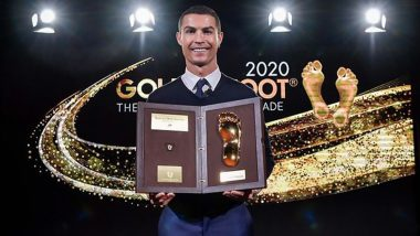 Cristiano Ronaldo Shares Heartfelt Note After Winning Golden Foot 2020, Thanks Fans for Voting Him, Check CR7's Instagram Post