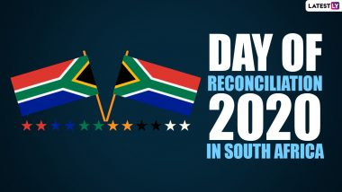 Day of Reconciliation 2020 in South Africa Date And Significance: Know The History And Events Observed on the Day That Promotes Peace Between Communities