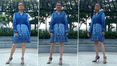 Dia Mirza's Indigo Dress Is Classic, Chic and a Perfect Sunday Mood!