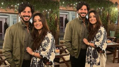 Dulquer Salmaan Wishes Wife Amal Sufiya on Their 9th Wedding Anniversary with a Sweet Post, Calls Her His Truffle!