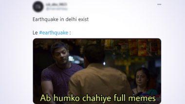 Delhi Earthquake Funny Memes Trend Online: Netizens Joke on Tremors in NCR as Entry Music For 2021!