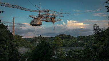 Radio Telescope at Arecibo Observatory in Puerto Rico Collapses; Many Mourn the Collapse of World's Second Largest Telescope