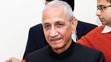 Dineshwar Sharma, Lakshadweep Administrator And Former J&K Interlocutor, Dies; PM Narendra Modi, Amit Shah And Other Politicians Express Condolences