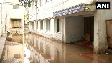 Cyclone Burevi Causes Rain in Thoothukudi District, Waterlogging at Govt Hospital Entrance