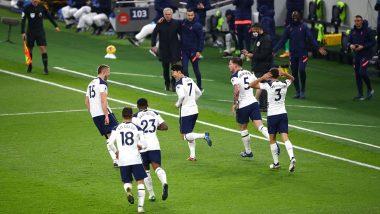 Sergio Reguilon, Dele Alli, Davinson Sanchez React As Tottenham Hotpurs Beat Manchester City 1-0 in EPL 2021-22