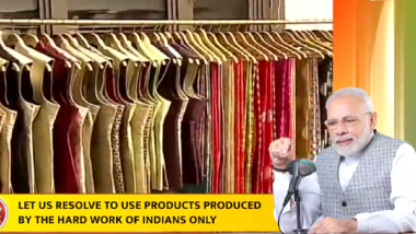 Mann Ki Baat: Find Replacement of Foreign Products Through Indian Alternatives, Says PM Narendra Modi