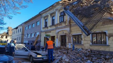 Earthquake of 6.4 Magnitude on Richter Scale Hits Croatia, 5 Dead, 20 Injured