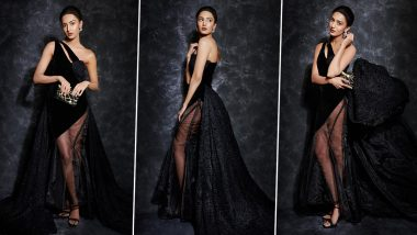 Erica Fernandes's Scorching Hot Look in Hip-High Slit Gown Will Make You Sweat Even in Chilly Winters (View Pics)