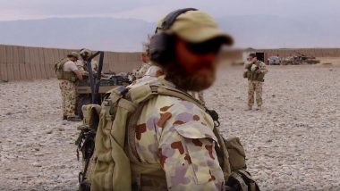 Photo Allegedly Showing Australian Soldier Using Dead Taliban Fighter's Prosthetic Leg to Drink Beer Emerges