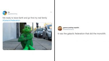 Galactic Federation Funny Memes Trend Online: From Finding Aliens to Their Monolith Connection, Netizens ShareHilarious Jokes, Videos and GIFs About Discovering Extra-Terrestrials in 2020
